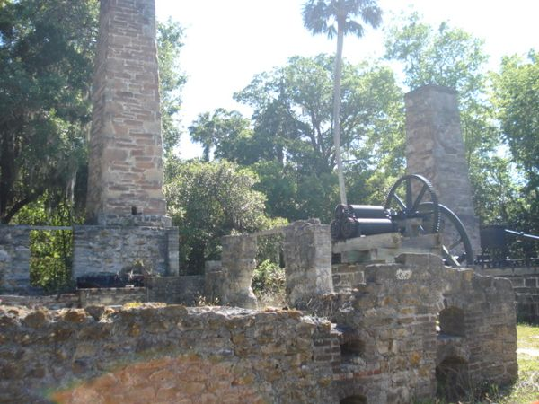 Dunlawton Sugar Mill Botanical Gardens Volusia County Moms