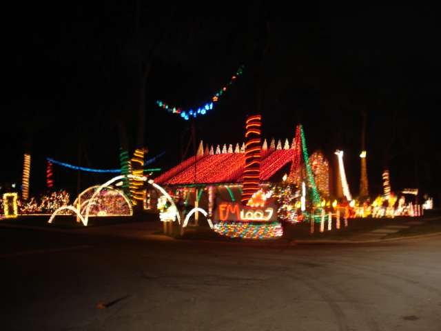 Awesome Christmas Light Displays In Port Orange