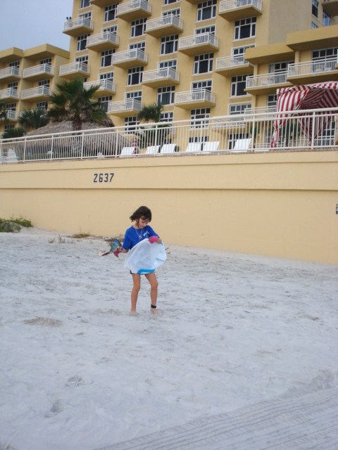 Beach cleanup 008