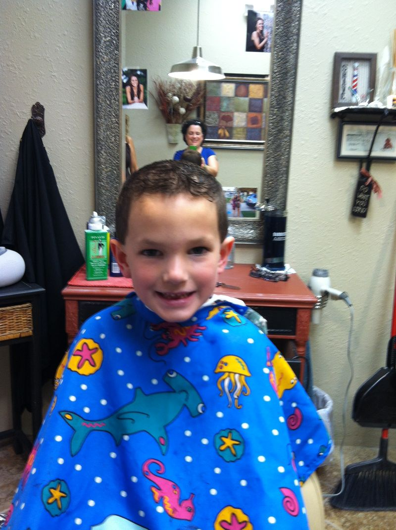 Have A Son In Need Of A Haircut Check Out Cheryls Place In Port