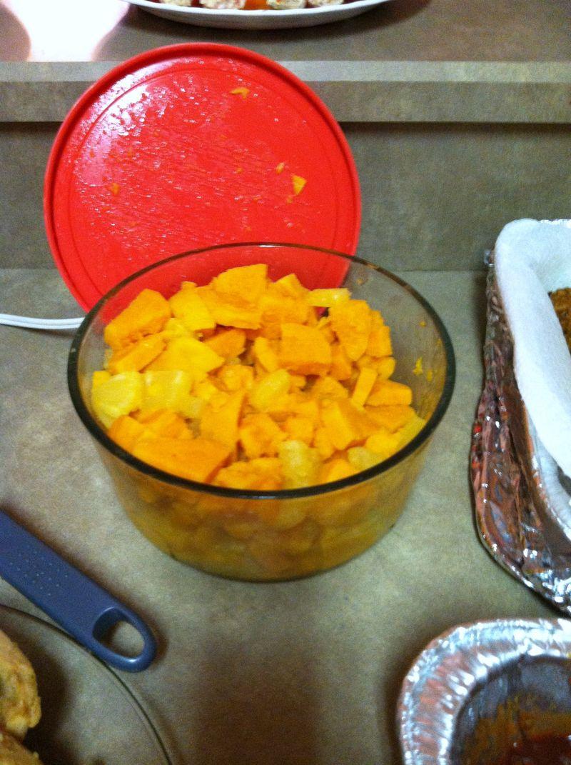 Thanksgiving dinner 036