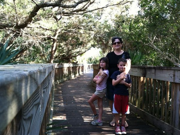 marine science center nature trail - ponce inlet