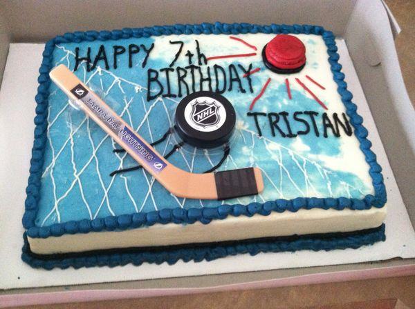 Vegan Hockey Birthday Cake Vegan Birthday Cake Ideas