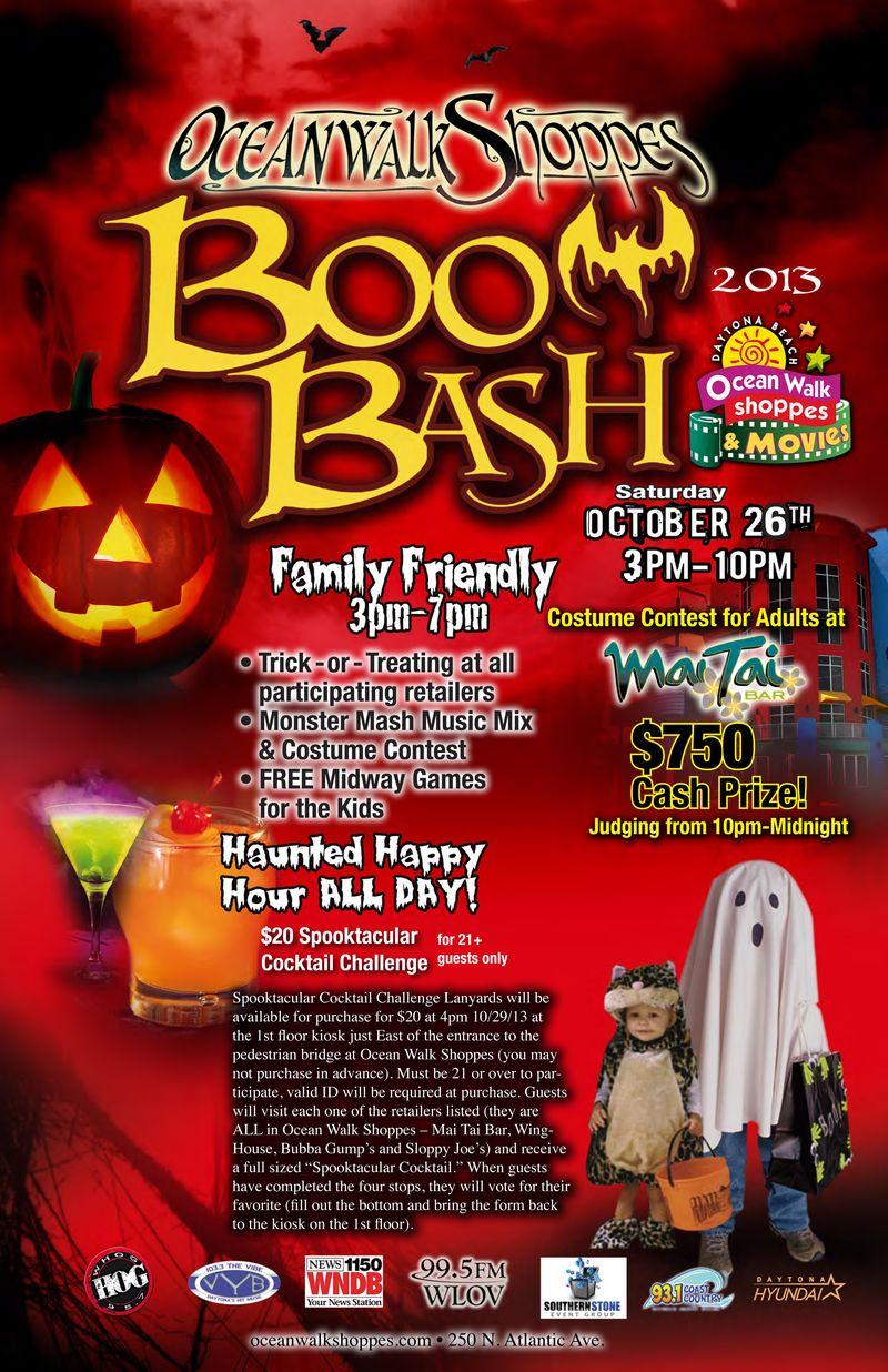 13-10 Boo Bash Poster