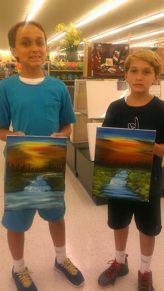 Kid S Bob Ross Painting Classes Now Offered After School Volusia
