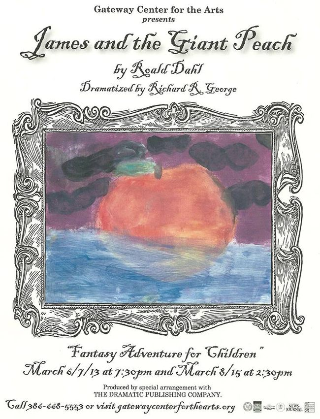 James and the Giant Peach performance in DeBary (2015)