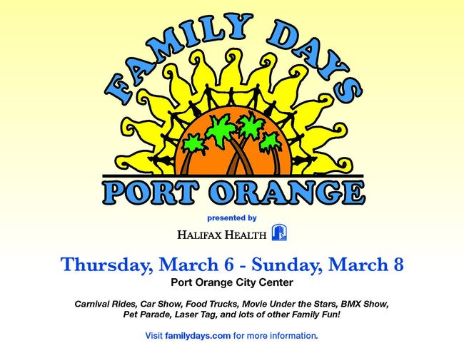 Family Days Port Orange Spring Fair presented by Halifax Health (2015)
