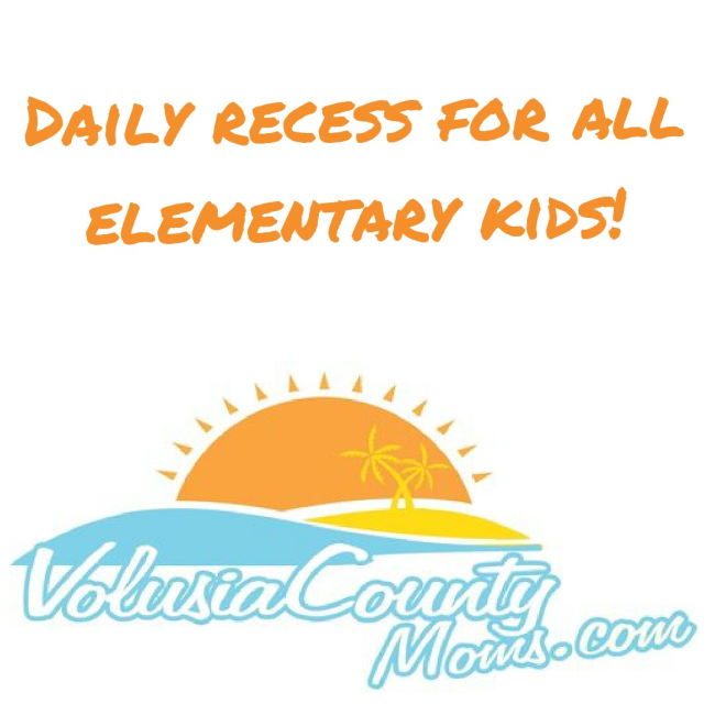 Help fight for elementary kids to get daily recess in Volusia County