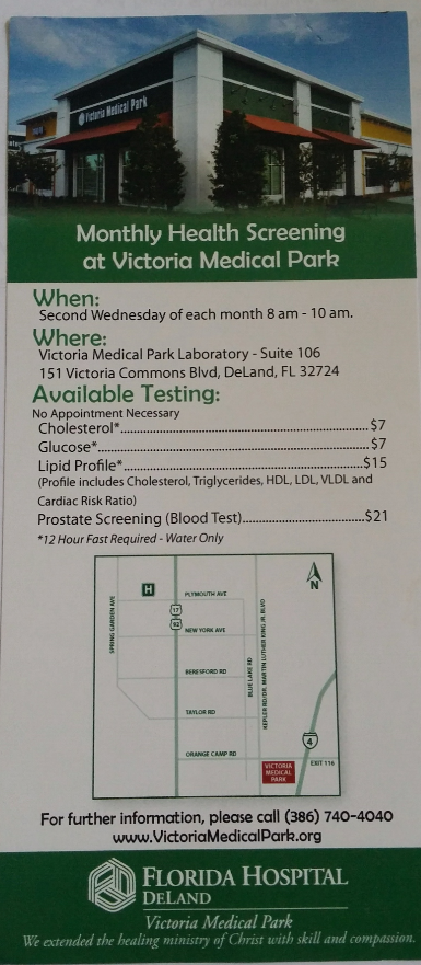 where to go for health screening
