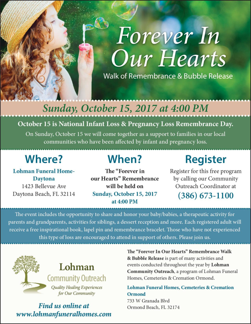 Forever in Our Hearts Walk of Remembrance & Bubble Release by Lohman Community Outreach (2)-page-001 (1)