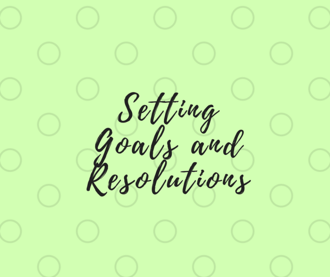 Setting and achieving New Year's Goals