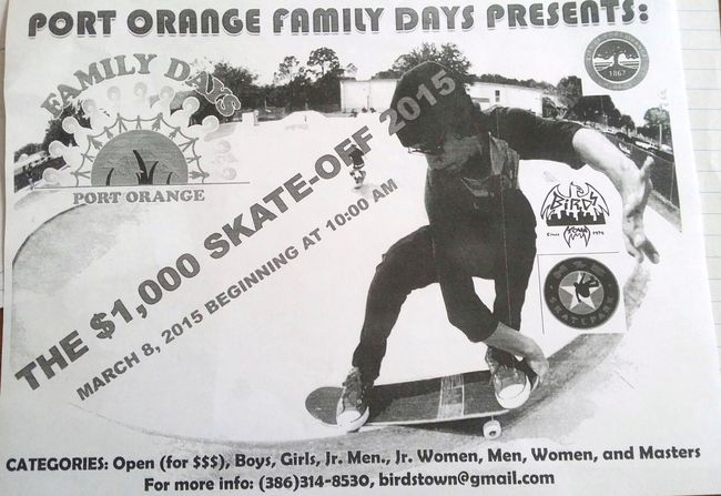 Skate-off in Port Orange (2015)