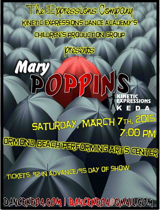 KEDA Children's Production of Mary Poppins in Ormond Beach (2015)