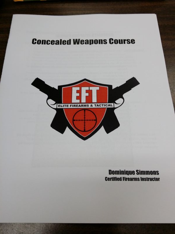 VCM Concealed weapons course in the books!