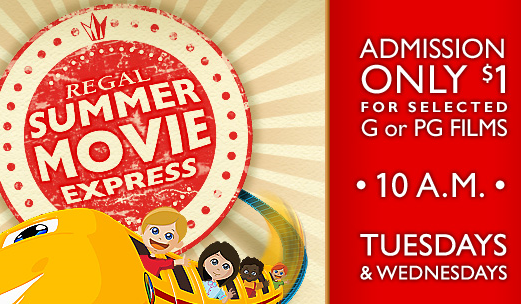 Summer Movie Express - Dollar Summer Movies in Port Orange and Ormond Beach (2015)