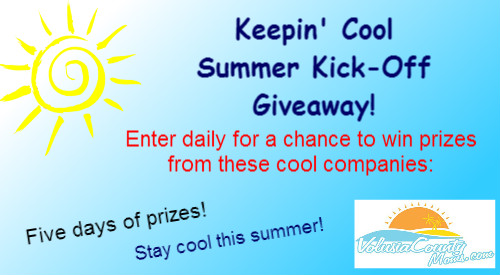 Keepin' Cool Summer Kick-Off Giveaway! Enter Daily! (2015)