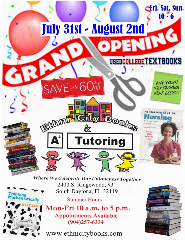 Grand opening flyer - back