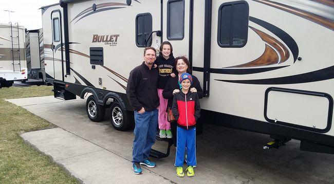 Our first travel trailer!