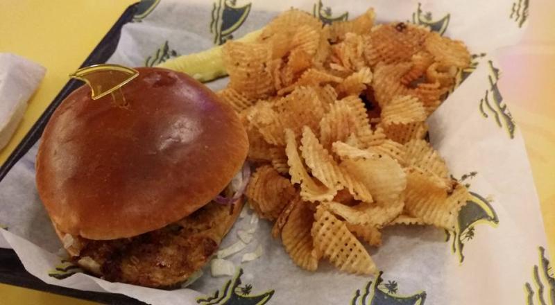 Landshark-veggie-burger