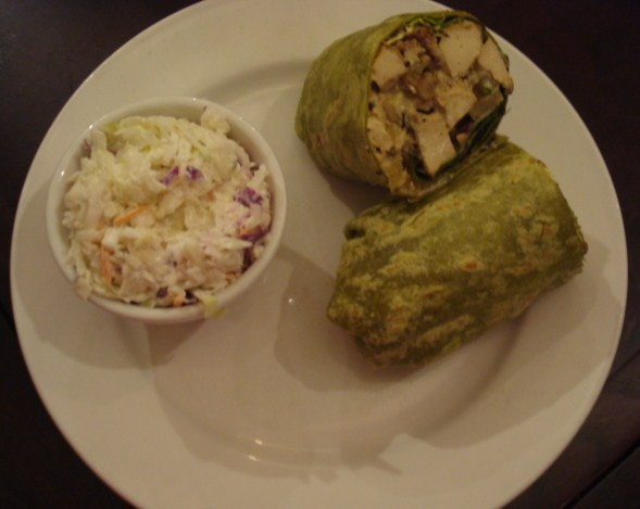Coconut-curry-wrap