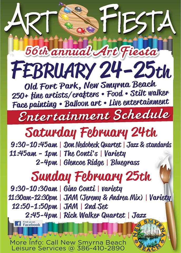 Art Fiesta In New Smyrna Beach 2018