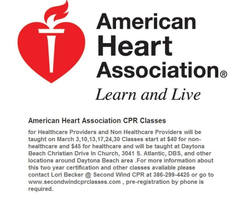 American Heart Association Cpr Classes 2015 Volusia County Moms