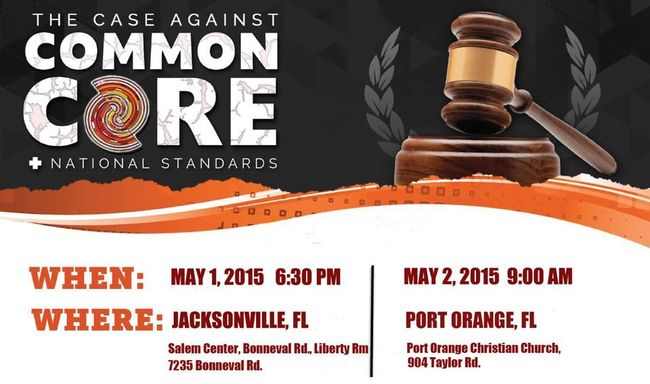 The Case Against Common Core Event in Port Orange (2015)