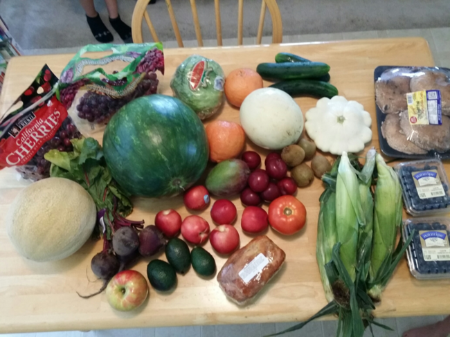 Scoring deals at the farmer's market and buying organics