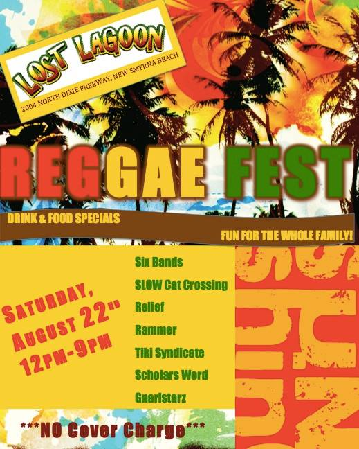 Family Friendly Reggae Fest in New Smyrna Beach (2015)