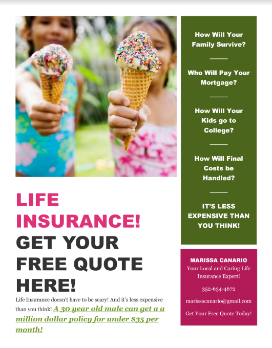 Free Life Insurance Quote Amusing Get A Free Life Insurance Quote In Volusia County  Volusia