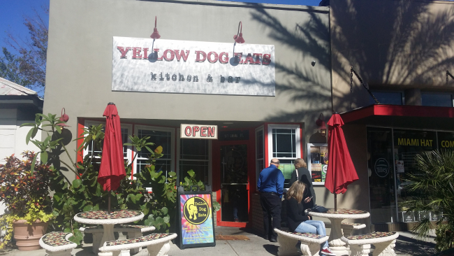 Yellow Dog Eats restaurant in New Smyrna Beach - review