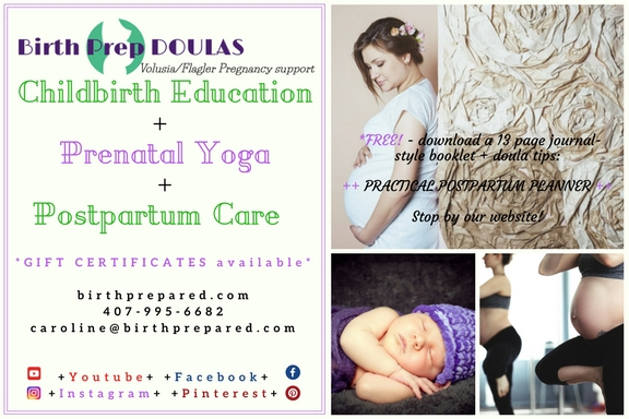 Childbirth Education DOULAS Prenatal Yoga Postpartum Care Infant Care-3