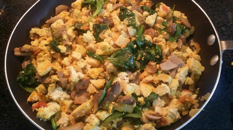 Vegan-tofu-scramble