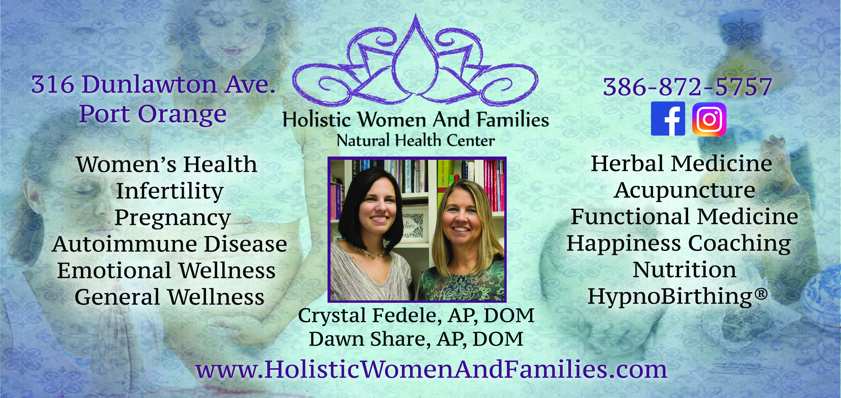 Holistic Women and Families Natural Health Center has an