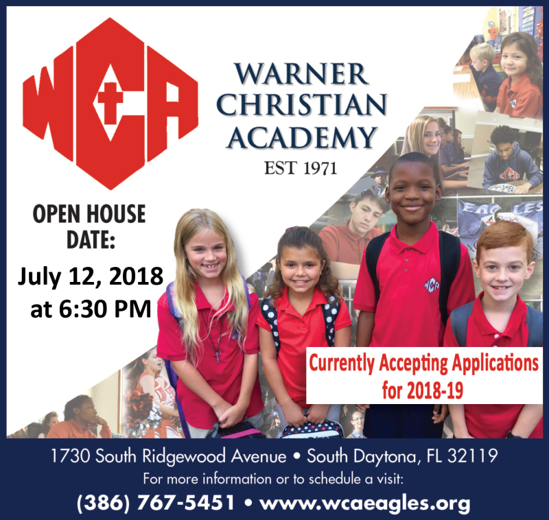 WCA Ad for Open House July 12 Press Release