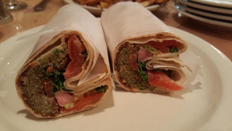 Falafel-wrap-pita-house