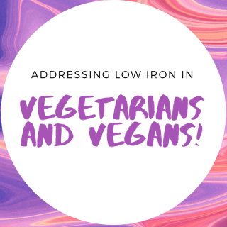 Addressing low iron in