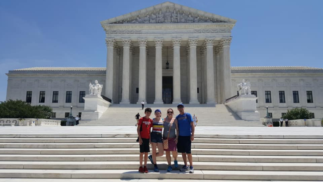 Our family vacation to Washington DC