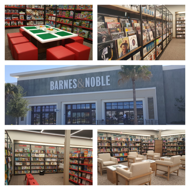 New Barnes and Noble in Daytona Beach