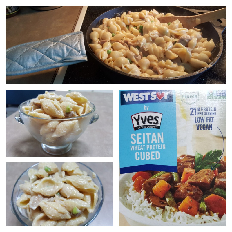 Vegan-creamy-garlic-pasta