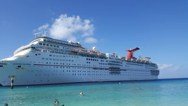 Our family Carnival Cruise on Elation