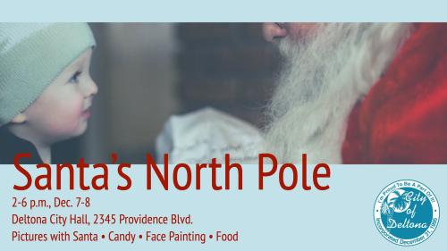 Santas north pole