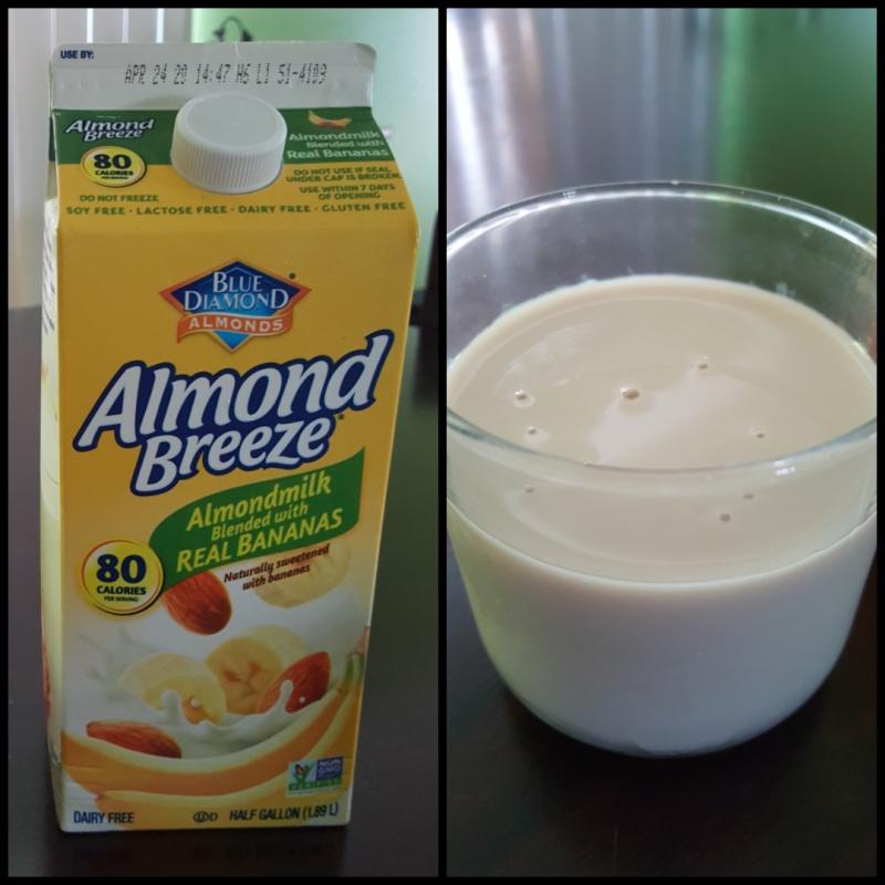 Almond-banana-milk