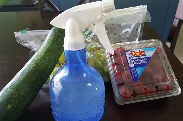 Clean-produce-salt-solution