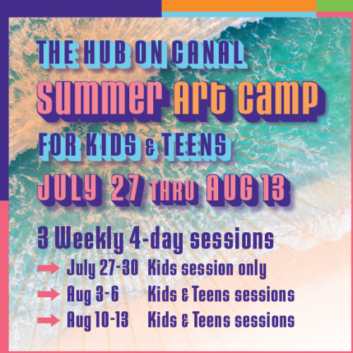 3-week Summer Art Camp 2020 art for posting