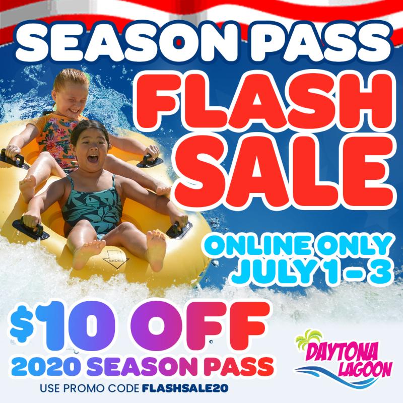 DL Season Pass Flash Sale 2020 Social Posting Art - with Code