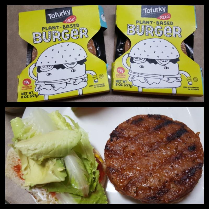 Tofurky-burgers