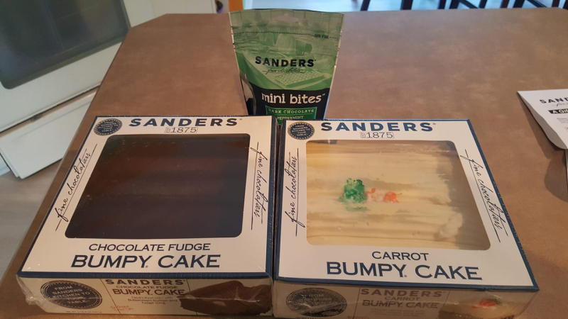 Sanders-bumpy-cake