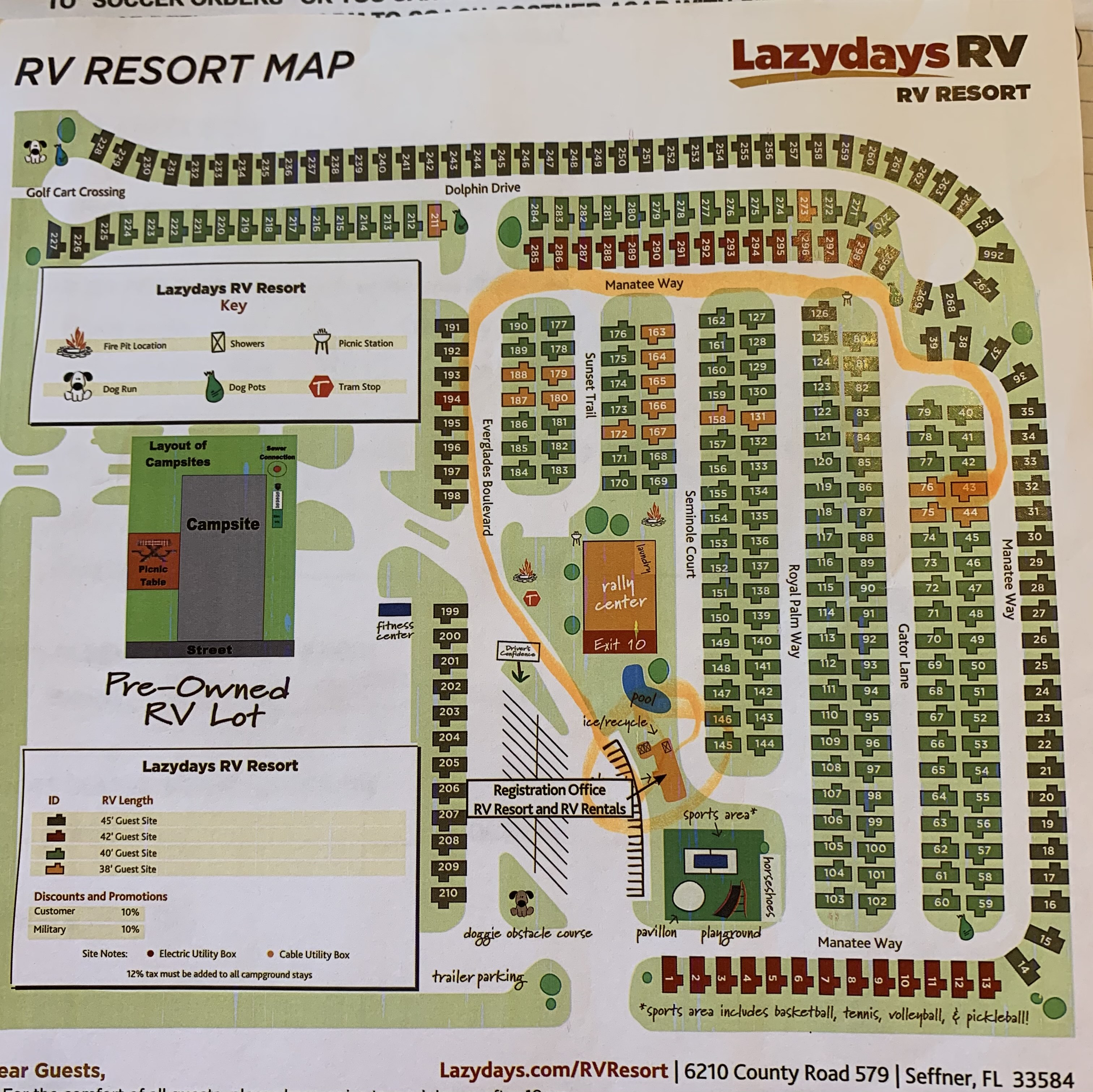 Review Lazydays RV Resort in Tampa   Florida Family Nature